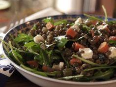 Lentil Salad with Burrata from CookingChannelTV.com
