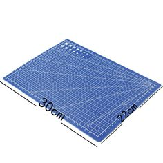 A4 Grid Lines Cutting Mat Craft Card Fabric Leather Paper Board