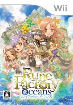 Rune Factory Oceans for Nintendo Wii Japan Import Video Game