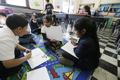 Hispanic students are making steady progress in math, new report finds