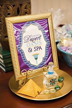 Jewel of the Nile Egyptian Spa Party by Banner Events as seen on HWTM