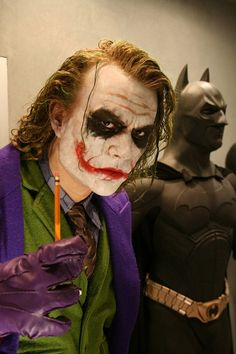 Heath Ledger Joker -  Freaky Realistic Movie Sculptures#Repin By:Pinterest++ for iPad#