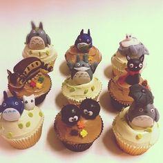 Studio Ghibli cupcakes