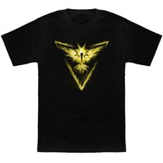 Nintendo: The #Pokemon Go Team Instinct t-shirt.
