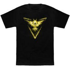 Nintendo: The #Pokemon Go Team Instinct t-shirt.