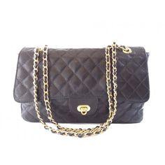 Bolsa em Couro Matelassê Legítimo /Genuine Leather Shoulder Bag
