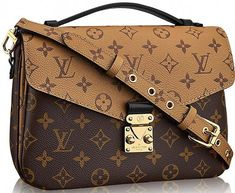 3362ed23e850 Louis Vuitton never fails to impress with its one-of-a-kind fashion pieces.  The trendy Reversed Monogram Pochette Metis Bag is of no exception.