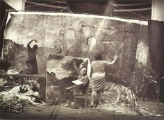 Joel-Peter Witkin, Studio of the Painter (Courbet), Paris, 1990