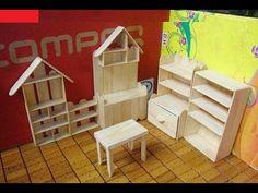 Simple DIY Ideas Mini Shelf Jewelry Using Popsicle Stick - Craft For Kid - YouTube