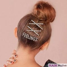 5 Pcs Black Metallic Star Accent Bobby Pins Grips Hair Clip for Lady