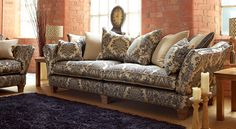 Argyle sofa from Ashley Manor Upholstery, available now online from Get Furnished.