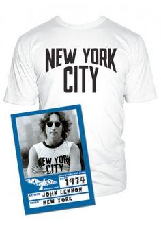 6e90b0e5 Worn Free - Worn by John Lennon, Shirts by John Lennon, John Lennon T