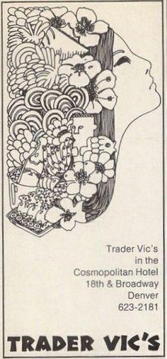 Trader Vic's 1971 ad