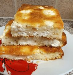 Savoury Baking, Savoury Pies, Cheese Pies, Greek Cooking, Greek Recipes, Pancakes, Sandwiches, Food And Drink, Appetizers