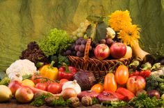 Fruit and vegetable gourmet gift baskets are healthy arrangements that have a long legacy. Delivering fresh produce in baskets is nothing new but many . Candy Gift Baskets, Gourmet Gift Baskets, Fruit And Veg, Fresh Fruit, Vegetable Basket, Fruit Gifts, Still Life Fruit, Edible Arrangements, Hydrangea Arrangements