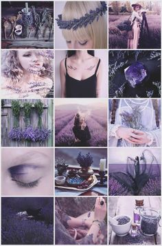 Lavender Witch aesthetic requested by @lilacsparks