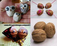 knutselen met walnoten - Google zoeken