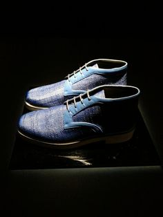 The Style Examiner: Nicholas Kirkwood Spring/Summer 2014 Men's Footwear