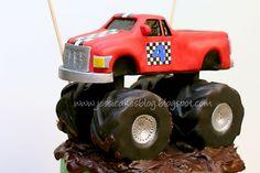 Monster Truck Cake Tutorial