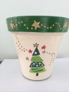 Terracota pot, magic tree