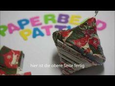 Deko-Kugel aus Zeitungspapier - YouTube