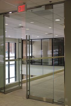 Commercial Entry Doors - Measured/Installed by American Building Systems Home Estimate, Building Systems, Shower Enclosure, Glass Doors, Entry Doors, Commercial, American, Furniture, Home Decor