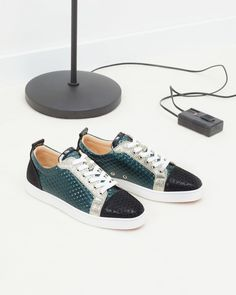 55dec872241e ... artistry for the christian louboutin ac louis junior orlato men s flat  in navy  Wish list and beautiful styles from louboutinworld for designer  shoes