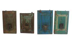 Candelabros de pared antiguos Francisco Segarra