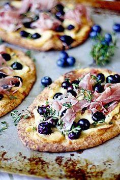 Blueberry Pizza - Omaha Organic Berries, Omaha, New Zealand