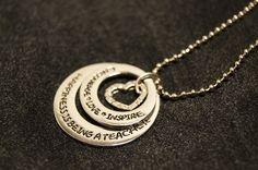 Teacher Rings Necklace – We Appreciate Teachers