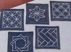 Culture Club: Coaster Sashiko Sampler