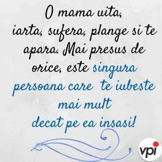 O mamă - Viral Pe Internet God Prayer, Prayers, Faith, Thoughts, 8 Martie, My Love, Quotes, Alba, Life