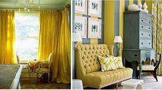 Bilderesultat for gule gardiner