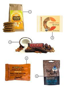 Paleoish Treats / via Jennifer Chong {some paleo and gluten free snacks i love! } #paleo #glutenfree