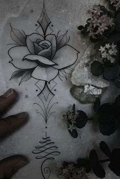 Flower Tattoo Designs, Flower Tattoos, Mom Tattoos, Small Tattoos, Tattoo Sketches, Tattoo Drawings, Mandala, Tattoo Time Lapse, True Love Tattoo
