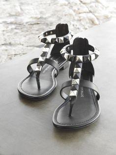 Eye-catching embellishments add spark to sandals. #RockRepublic #Kohls