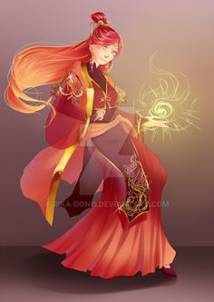Phoena's mother : Xifeng by rika-dono