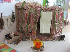 cueva con caja y papel niños - Buscar con Google