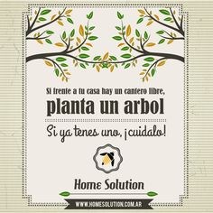 Planta arboles y asegura el futuro -#home_solution #conciencia #vida #planeta #sustentable #arbol