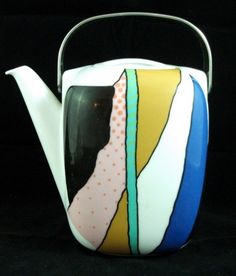 Rosenthal COLLAGE Coffee Pot GREAT CONDITION #ROSENTHAL