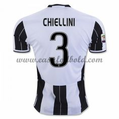 Fodboldtrøjer Series A Juventus 2016-17 Chiellini 3 Hjemmetrøje