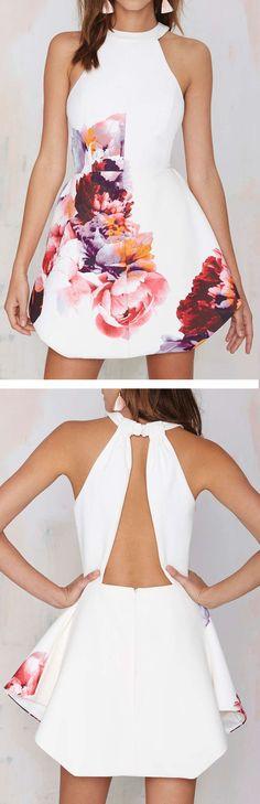 vestido branco com flores