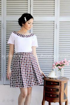 Nandini Kawung Batik Dress | DhieVine | Redefine You