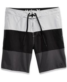 430ee2ff09f5b Hurley Men's Beachside Northcliff Colorblocked 18.5. Trunks SwimwearMen's  ...