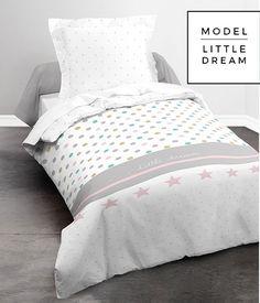 Biała bawełniana pościel do pokoju dziecka