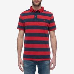 Timberland Kennebec River - Men's Stripe Polo Timberland, Polo Ralph Lauren, Polo Shirts, Tees, Mens Tops, T Shirt, River, Fashion, Supreme T Shirt