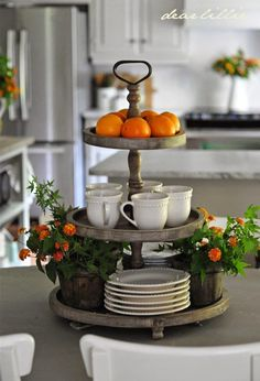 ...something like this Three Tier tray from Mothology (but at a value price)!