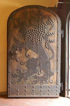 Wasserburg Marienplatz Lion Door by andrewwantcoffee, via Flickr