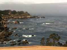 View outside our balcony in Carmel