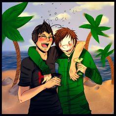 Good Times with Drunk Friends +Speedpaint by ~TheKimmeh on deviantART http://www.deviantart.com/art/Good-Times-with-Drunk-Friends-Speedpaint-394163086